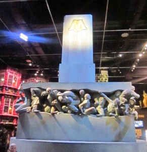 Harry Potter sculpture