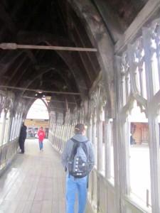 Hogwarts walkway