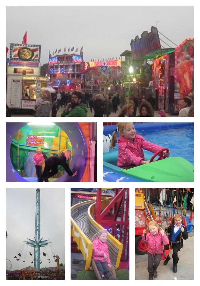 Hull Fair with kids
