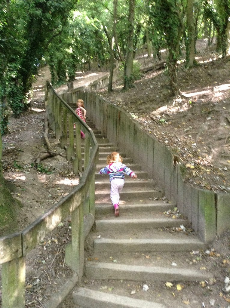 Humber Bridge Country Park Hessle East Yorkshire Kids