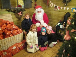 Santa's Grotto at the Christmas Adventure