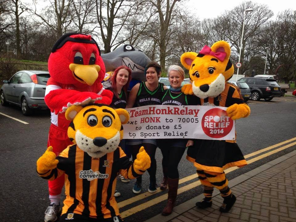 #TeamHonk Hull Sport Relief
