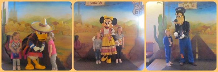 Where to meet the characters at Disneyland Paris