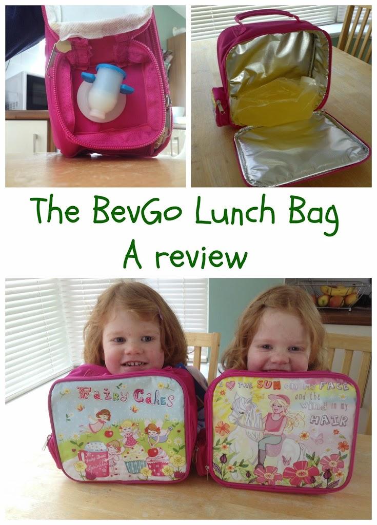 BevGoBag Lunch bag with drinks dispenser