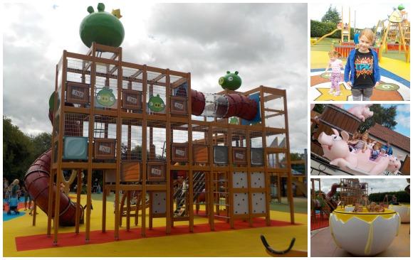 Angry Birds at Sundown Adventureland