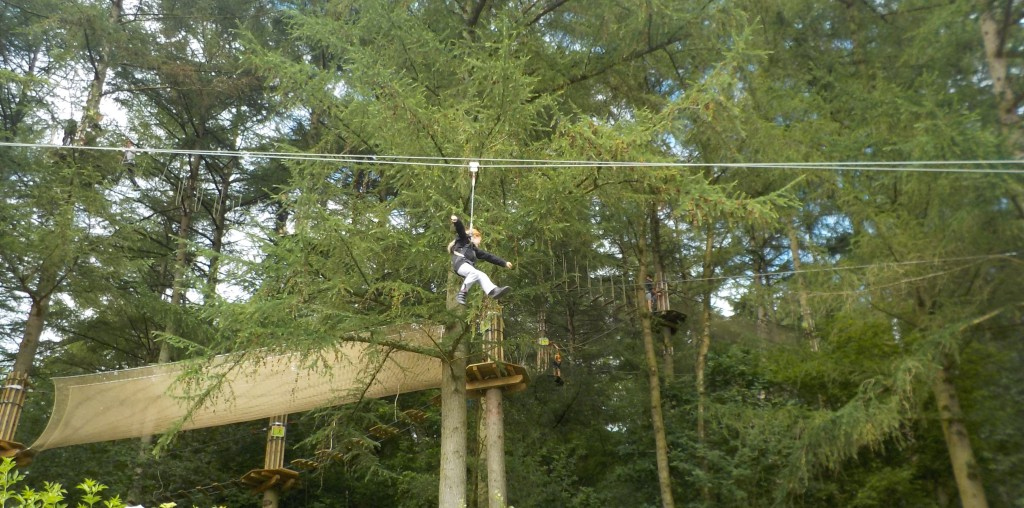 Go Ape Dalby Forest Yorkshire