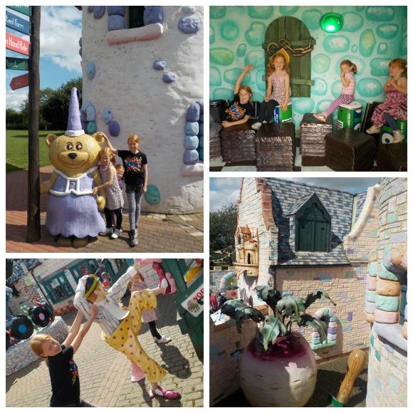 Lollipoppet Castle at Sundown Adventureland