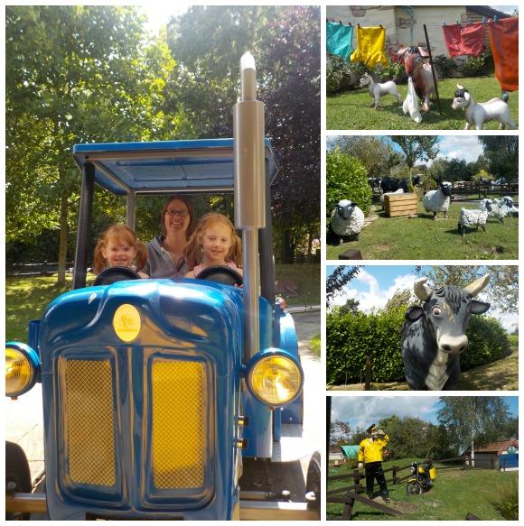 Tractor Ride at Sundown Adventureland