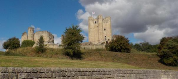Conisbrough Castle Yorkshire