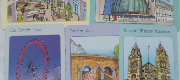 London Spotters Cards Usborne