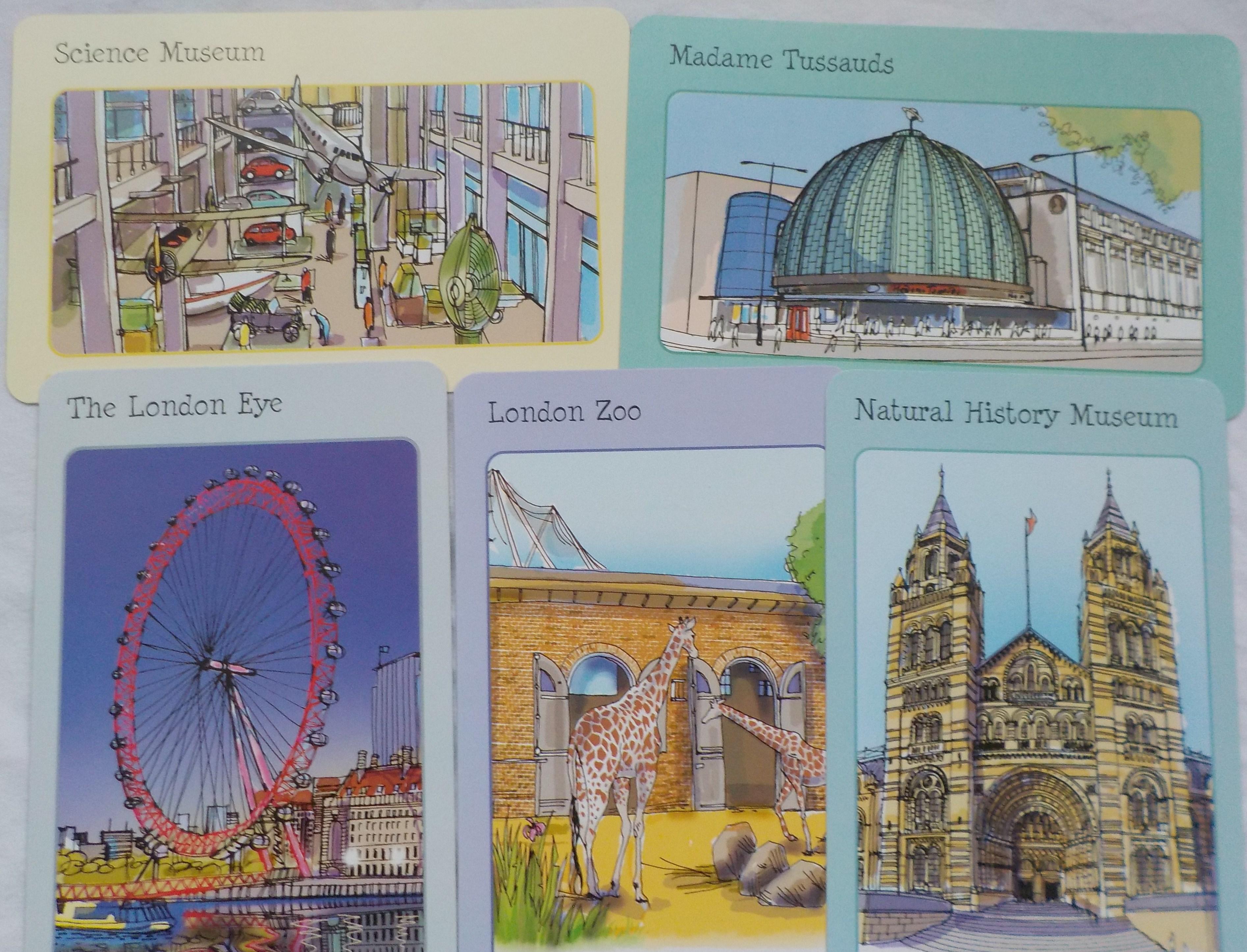 London Spotters Cards Usborne