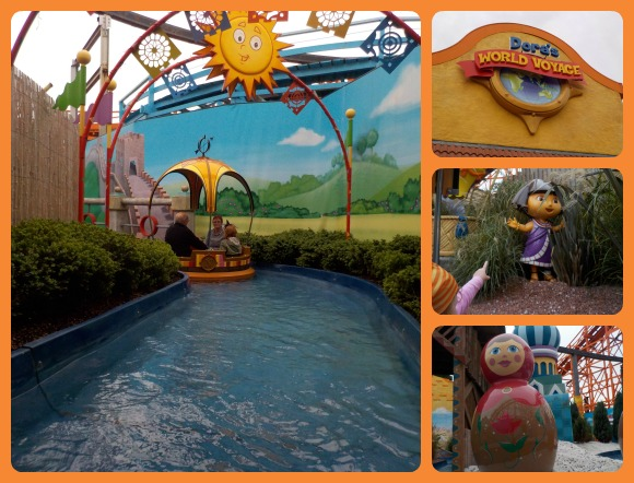 Dora's World Voyage at Blackpool Pleasure Beach