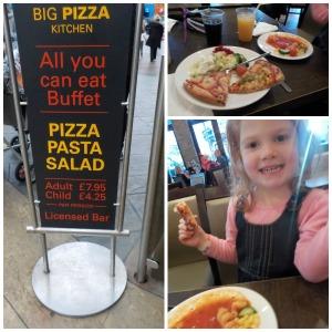 Food at Blackpool Pleasure Beach
