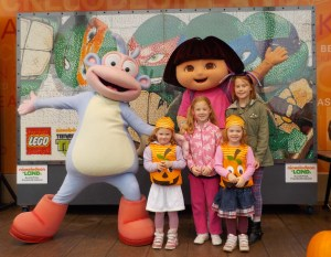 Dora at Blackpool Pleasure Beach
