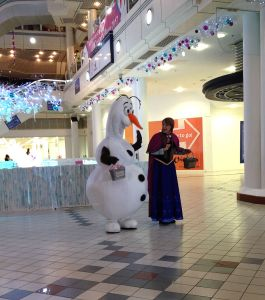 Frozen at Princes Quay