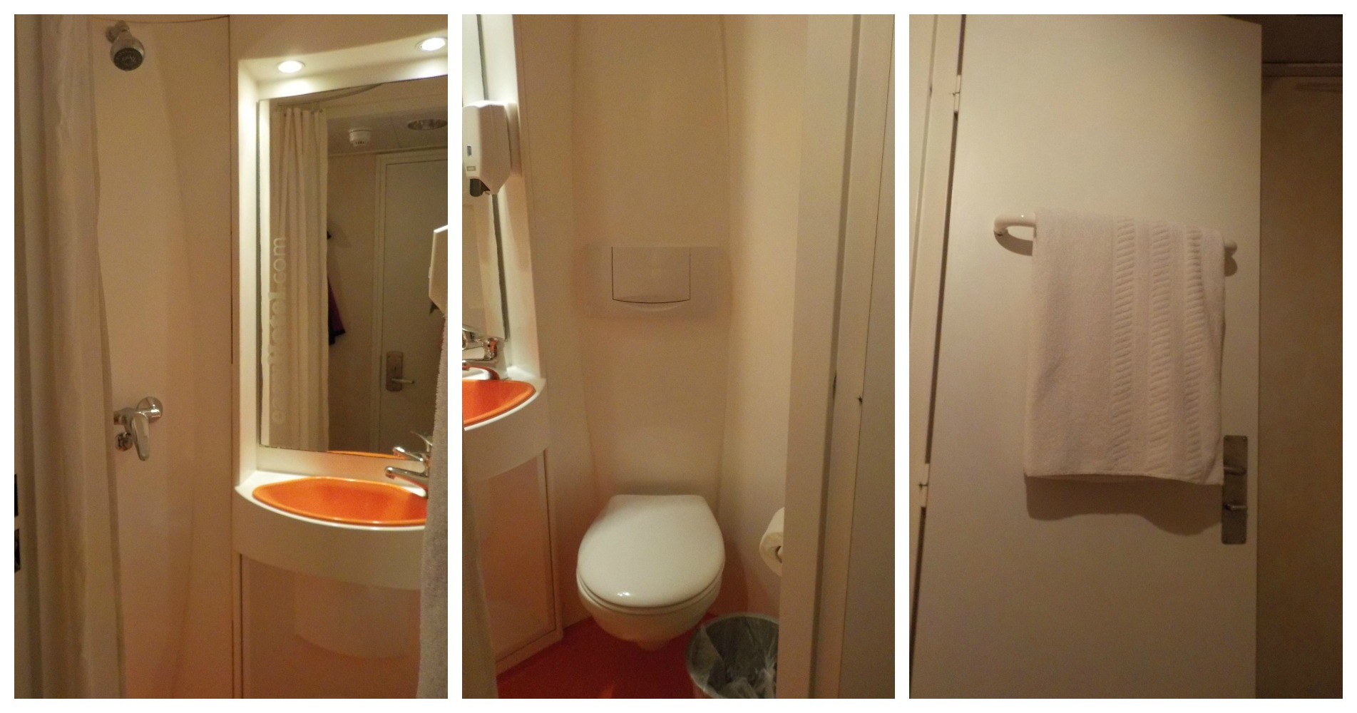 EasyHotel Kensington bathroom