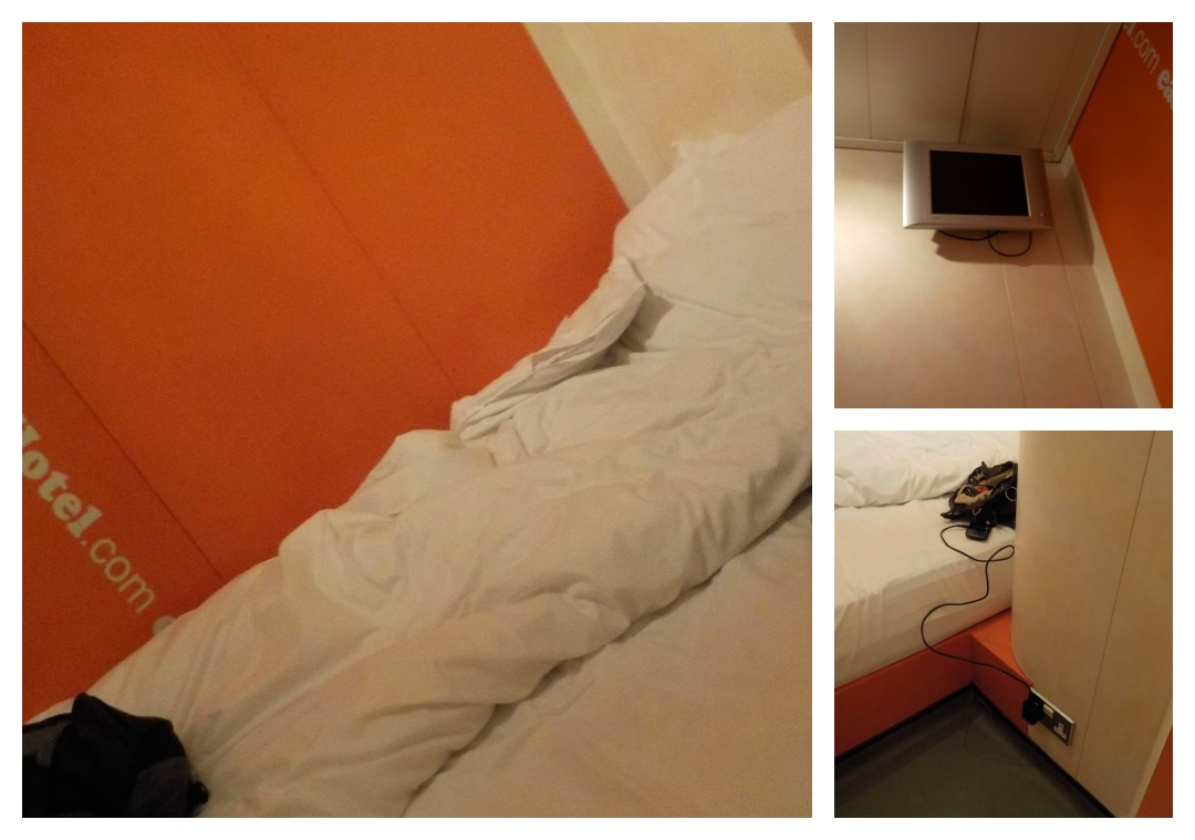 EasyHotel South Kensington bedroom