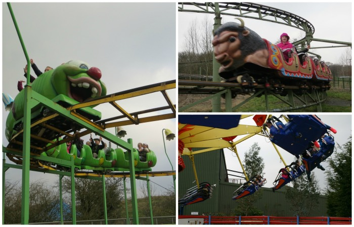 Big rides at Twinlakes Park