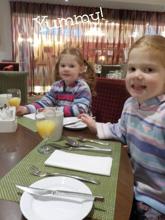 Breakfast at the Hilton Leicester