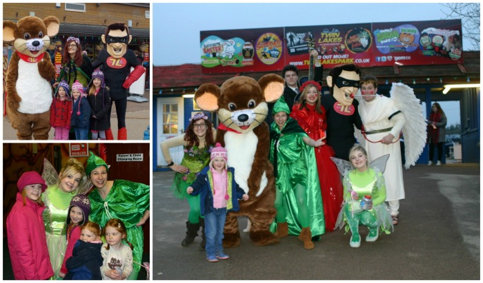 Characters at Twinlakes Park