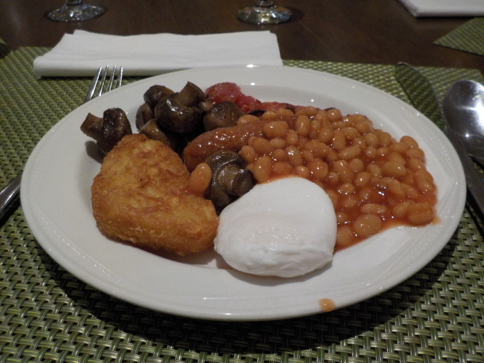 Breakfast at Hilton Leicester
