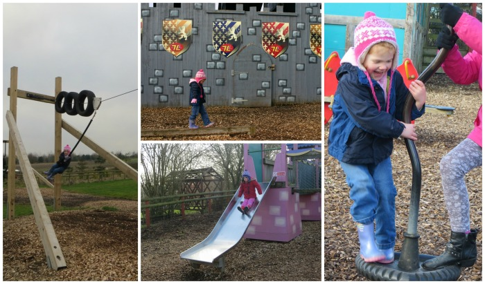 The playgrounds at Twinlakes Park