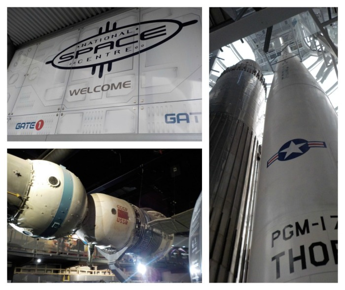 The National Space Centre spacecraft