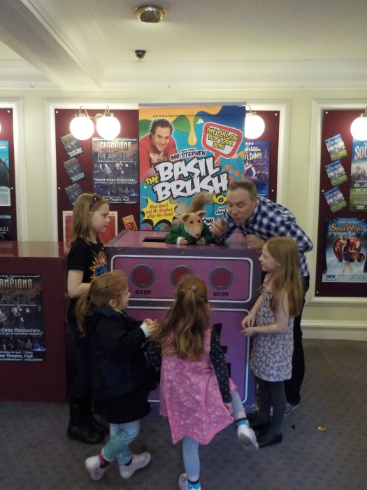 The Basil Brush Show tour 2015