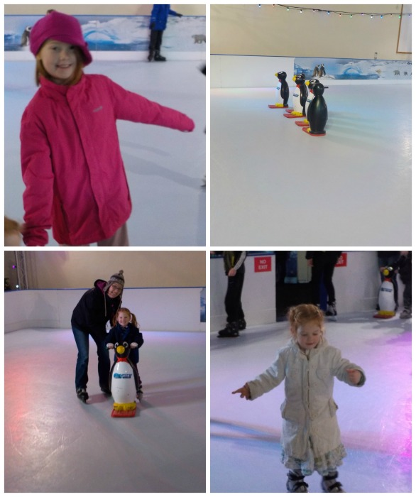 Ice skating at Butlins