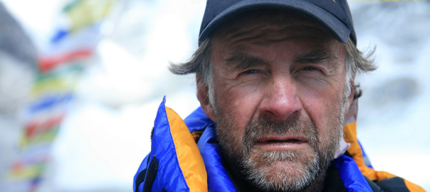 Sir Ranulph Fiennes Everest 2008