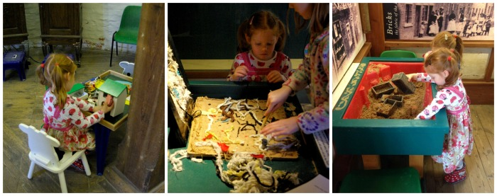 Childrens activities at Skidby Mill