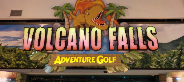 Volcano Falls Adventure Golf Castleford