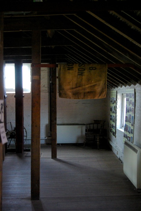 The flour room at Skidby Mill