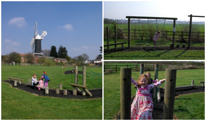 The play area at Skidby Mill