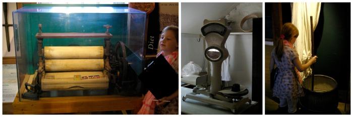 Ye olde machinery at Skidby Mill museum