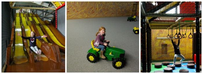 Indoor play barn at Playdale Farm Park