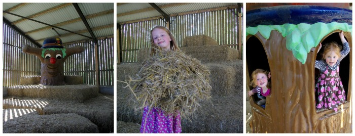 Straw play barn at Playdale Farm Park