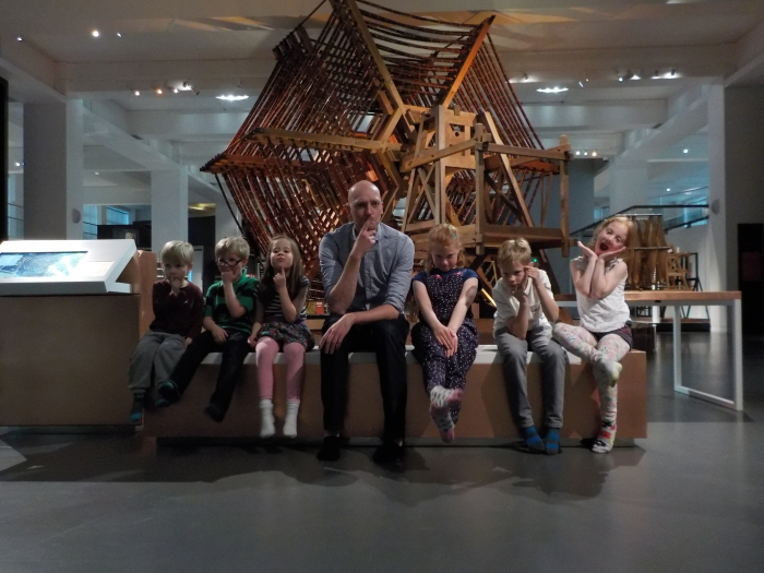 With Mark Champkins at The Science Museum