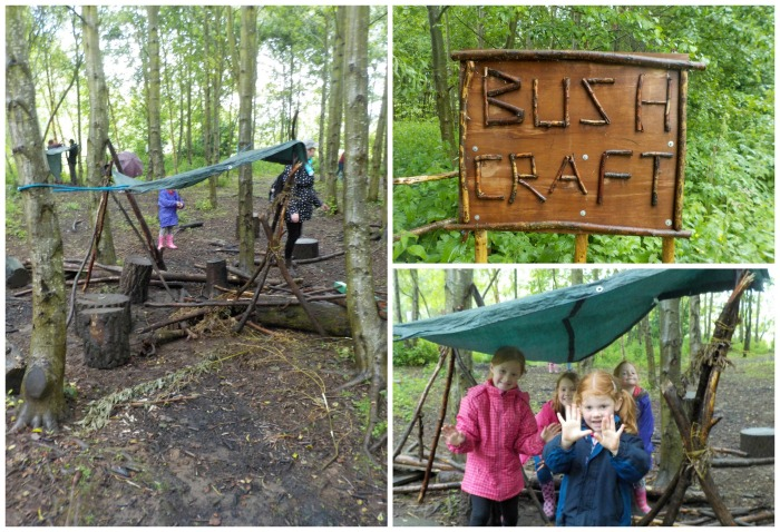 Den building at Conkers
