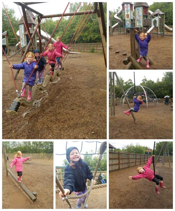The adventure playground at Conkers