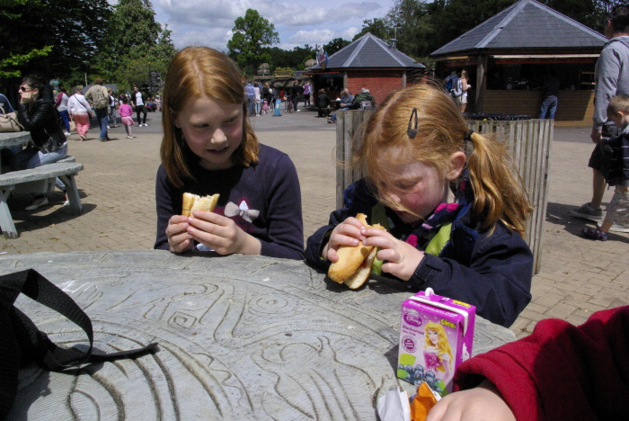 Food and drink at Longleat Safari Park