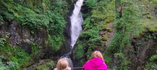 Aira Force falls in The Lake District