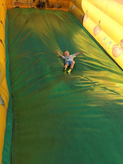 Bouncy Haystacks at Willows Activity Farm