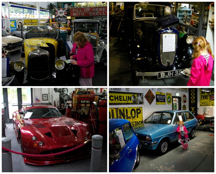 Cars at the Lakeland Motor Museum