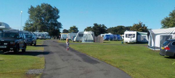 Dunstan Hill Campsite Northumberland