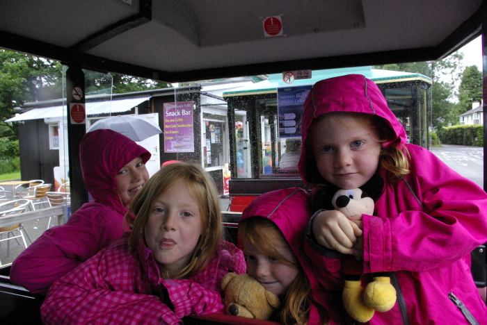 The land train in Bowness-on-Windermere