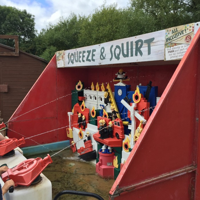 Squeeze And Squirt at Willows Activity Farm