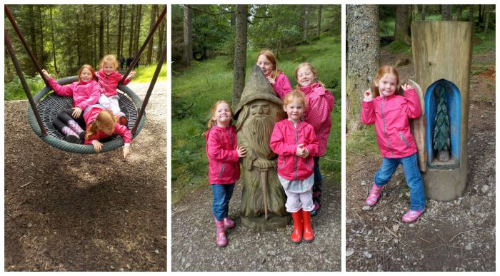 The fairy playground at Whinlatter Forest