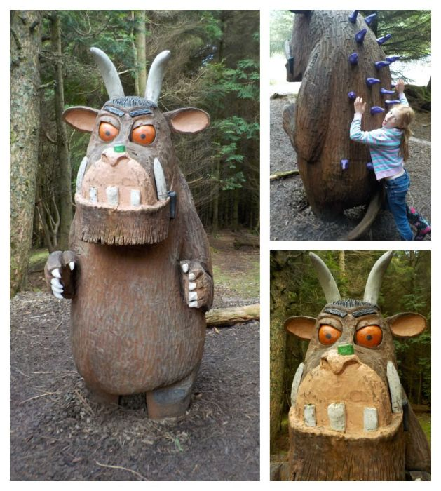 The gruffalo at Whinlatter Forest