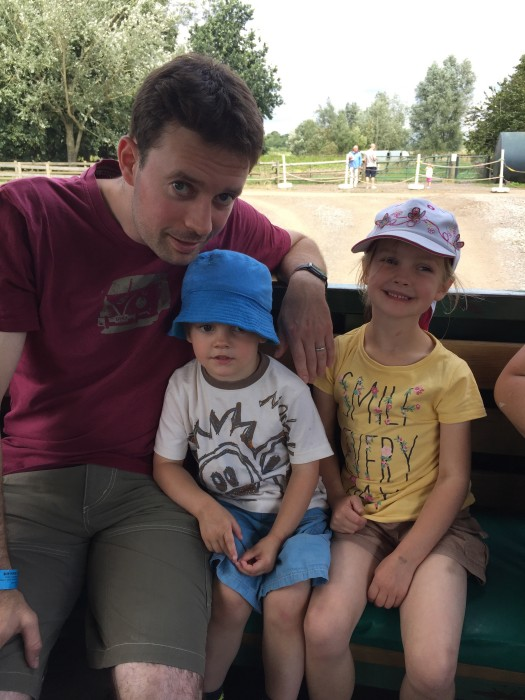 Tractor Ride at Willows Activity Farm